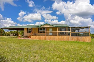 Stephenville Single Family Home Active Option Contract: 488 Private Road 1615