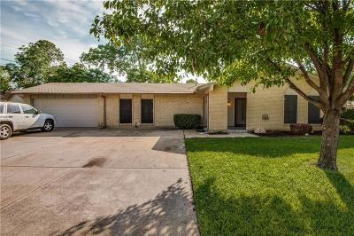 Irving Single Family Home For Sale: 2128 Meandering Drive