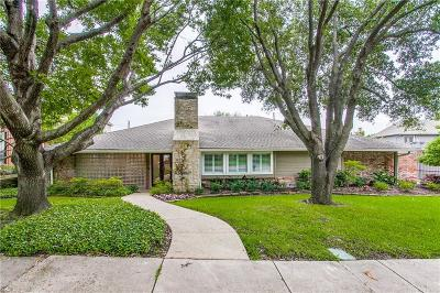 Dallas County Single Family Home For Sale: 7406 Craigshire Avenue