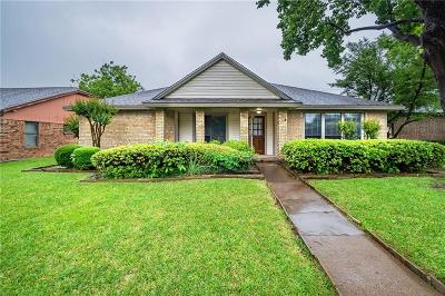 Garland Single Family Home Active Option Contract: 2410 Limestone Lane