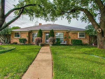 Richardson Single Family Home Active Contingent: 1607 Auburn Drive