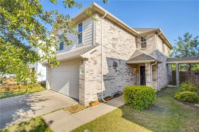 Wylie Single Family Home Active Option Contract: 611 Fleming Street
