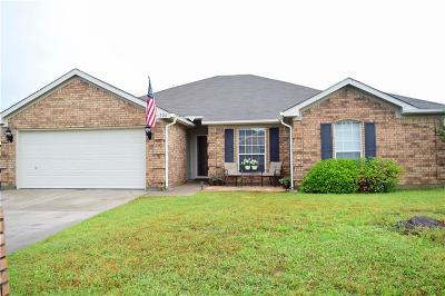 Aledo Single Family Home Active Option Contract: 326 Howard Way Drive