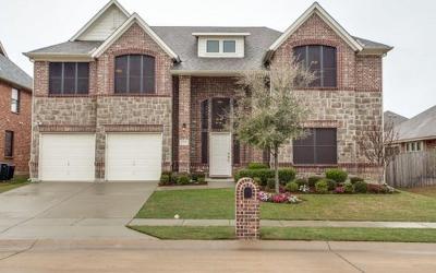 Aubrey Single Family Home For Sale: 1204 Longhorn Drive