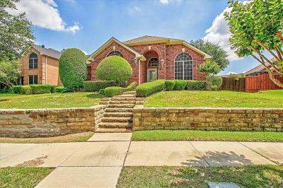 Plano TX Single Family Home Active Option Contract: $317,900