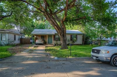 Hurst Single Family Home Active Option Contract: 304 Elm Street