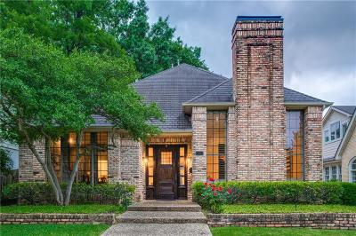 University Park TX Single Family Home For Sale: $1,349,000