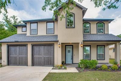Fort Worth Single Family Home Active Option Contract: 732 Edgefield Road