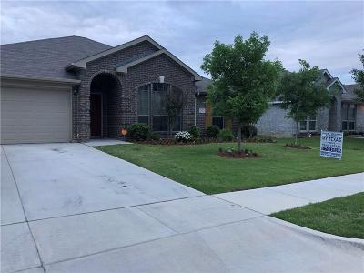 Azle Single Family Home Active Option Contract: 505 Dominick Court