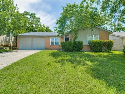 Euless Single Family Home Active Option Contract: 711 Ranger Street