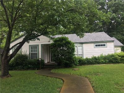 Waxahachie Single Family Home Active Option Contract: 119 Kirven Avenue