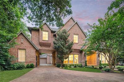 Dallas County Single Family Home For Sale: 4511 Bluffview Boulevard