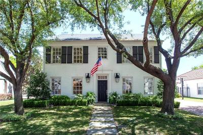 Fort Worth Single Family Home For Sale: 2721 Manorwood Trail