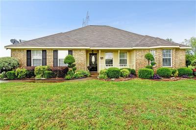 Royse City Single Family Home Active Option Contract: 4158 Lucy Circle