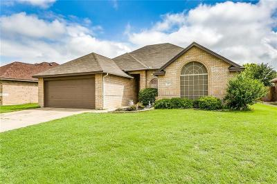 Burleson Single Family Home Active Option Contract: 1020 Aaron Drive