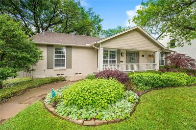 Dallas County Single Family Home Active Option Contract: 5603 Southwestern Boulevard