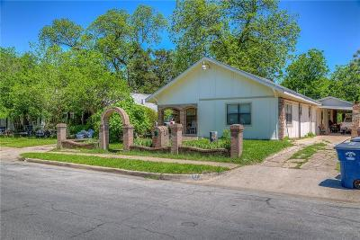 Dallas Single Family Home For Sale: 614 Mount Auburn Avenue