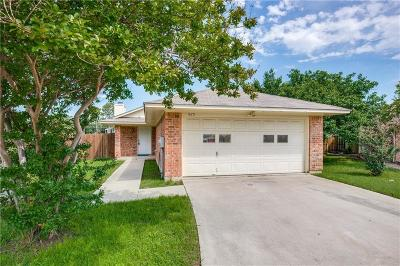 Denton Single Family Home Active Option Contract: 625 Windswept Court
