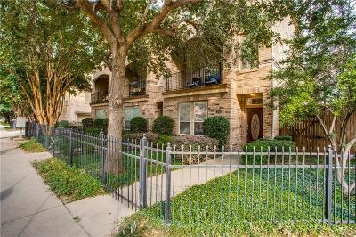 Oak Lawn Townhouse For Sale: 3715 Wycliff Avenue