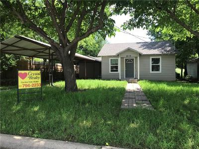Hico Single Family Home For Sale: 611 Kirk Street NW