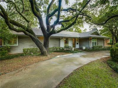 Dallas Single Family Home For Sale: 5525 Meadow Crest Drive
