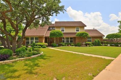Abilene Single Family Home For Sale: 1933 Greenridge Court