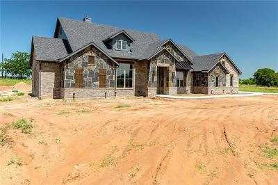 Weatherford Single Family Home For Sale: 201 Salt Creek Court
