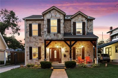 Dallas Single Family Home Active Option Contract: 6331 Lakeshore Drive