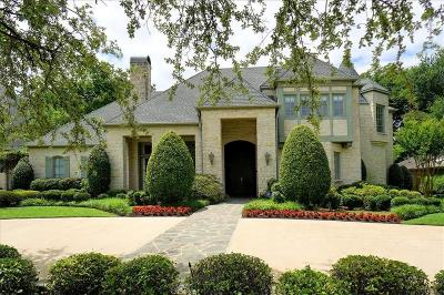 Preston Hollow, Preston Hollow Rev Single Family Home For Sale: 6458 Tulip Lane