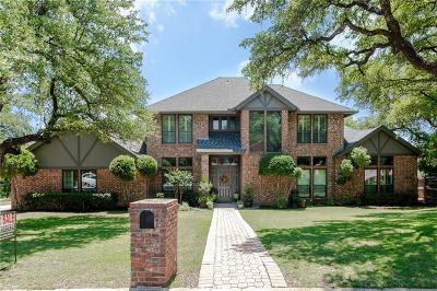 Fort Worth Single Family Home For Sale: 8624 Canyon Crest Road