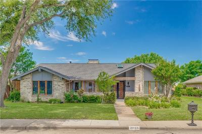 Carrollton Single Family Home Active Option Contract: 3813 Spring Hollow Drive