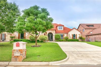 Mansfield Single Family Home Active Option Contract: 3325 Vista Lake Circle