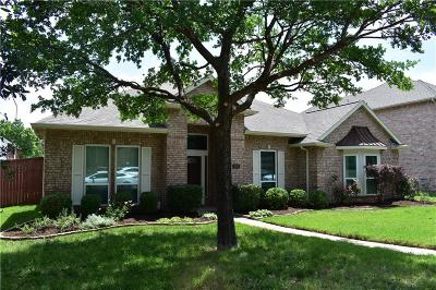 Coppell Single Family Home Active Option Contract: 110 Oakbend Drive