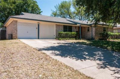 Euless Residential Lease For Lease: 507 Simmons Drive