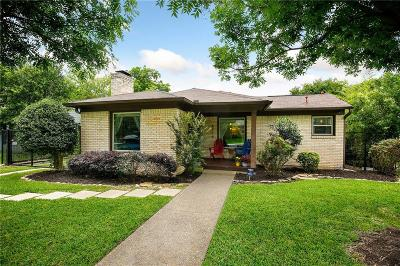 Dallas Single Family Home For Sale: 5119 Lahoma Street