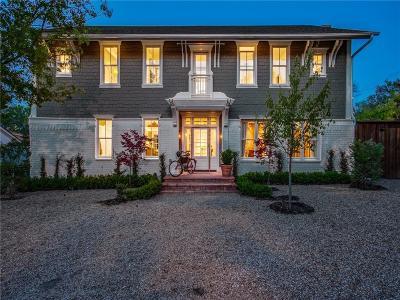 Dallas County Single Family Home For Sale: 8606 Wingate Drive
