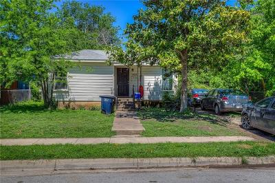 Fort Worth Single Family Home For Sale: 1929 Greenfield Avenue