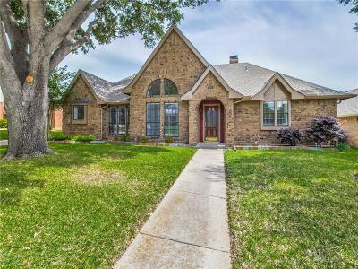 Dallas County, Denton County Single Family Home Active Option Contract: 1105 Mackie Drive