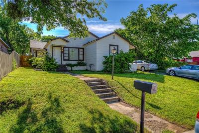 Fort Worth Single Family Home For Sale: 2305 Donalee Street