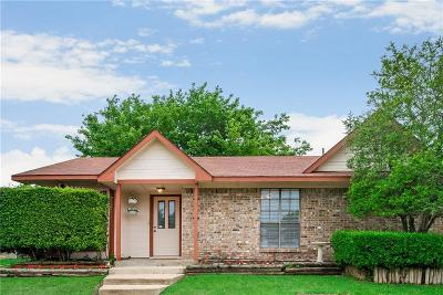 Lewisville Single Family Home Active Option Contract: 1322 Lark Lane