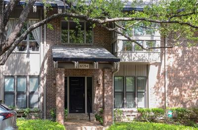 Dallas County Condo For Sale: 10754 Villager Road #D