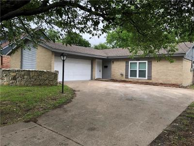 Duncanville Single Family Home Active Option Contract: 530 Falling Leaves Drive