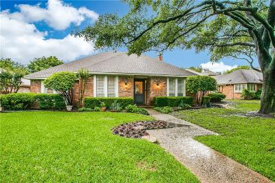 Dallas Single Family Home Active Option Contract: 9111 Dusti Drive