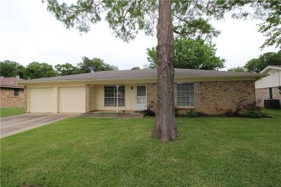 Hurst Single Family Home Active Option Contract: 2204 Mountainview Drive