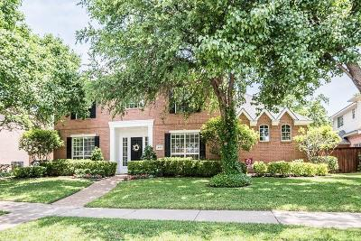 Coppell Single Family Home For Sale: 642 Lake Park Drive