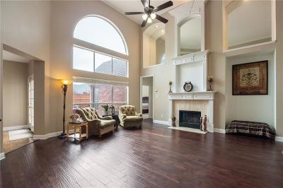 Plano Single Family Home Active Contingent: 4563 Cape Charles Drive