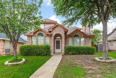 Lewisville Single Family Home Active Option Contract: 1427 Stella Drive