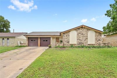 Irving Single Family Home Active Option Contract: 2720 Lake Gardens Drive