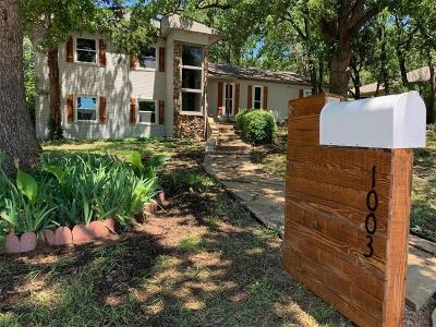 Denton Single Family Home For Sale: 1003 Hopkins Drive