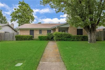 Farmers Branch Single Family Home Active Option Contract: 2730 Moonriver Lane